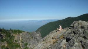 Atop Mount Si