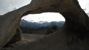 View up to Mt. Whitney