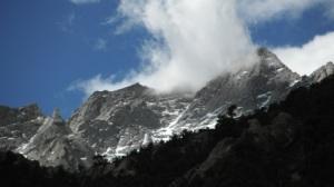 Storm brewing on Lone Pine Peak