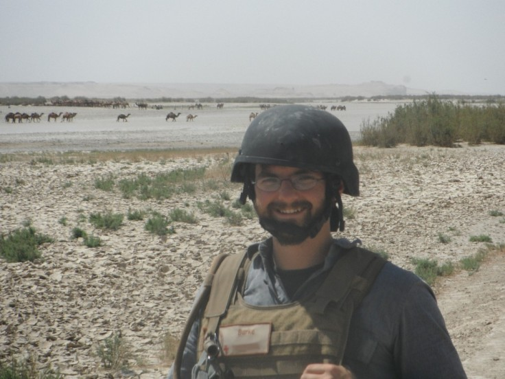 Your author, at the Helmand River