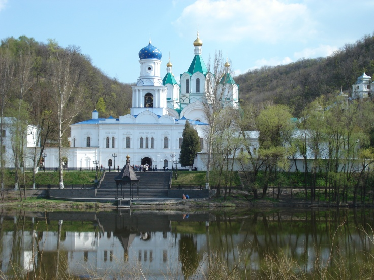 Svetagorsk Monastery, near my village