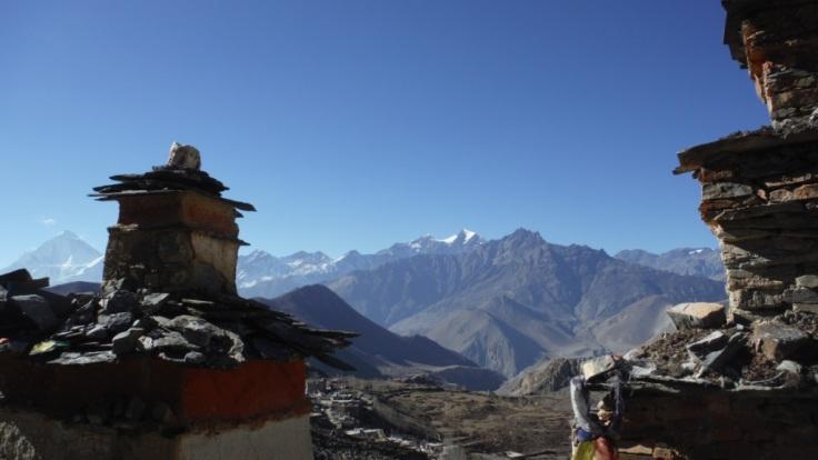 Stupa in Muktinath