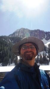 Hiking selfie, sans pipe