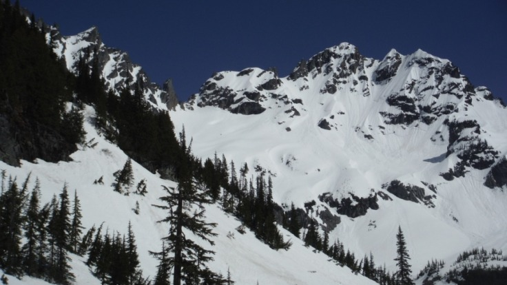 From Glacier Basin