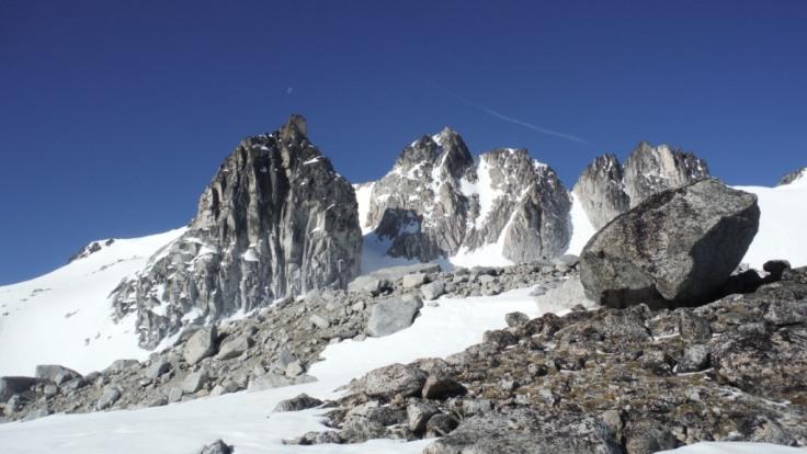 Pinnacles in the Enchantments