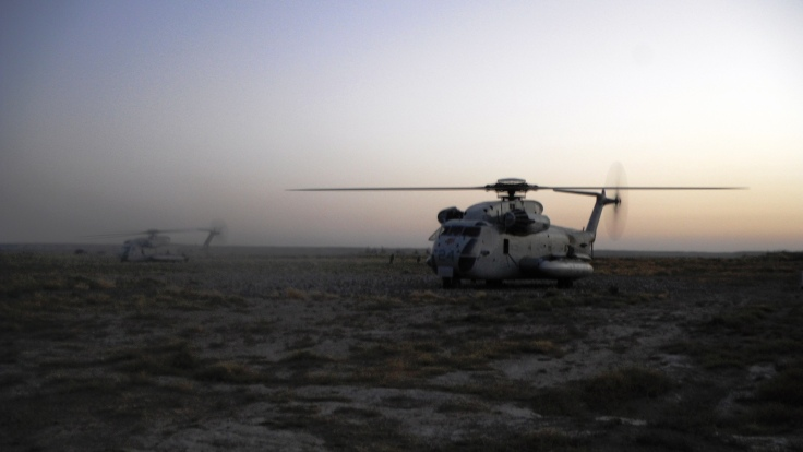 Dust off in Helmand Province
